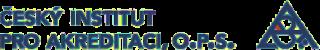 Logo - Český institut pro akreditaci