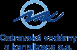 Logo - Ostravské vodárny a kanalizace
